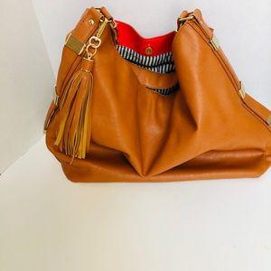 JUST FAB-large shoulder bag
